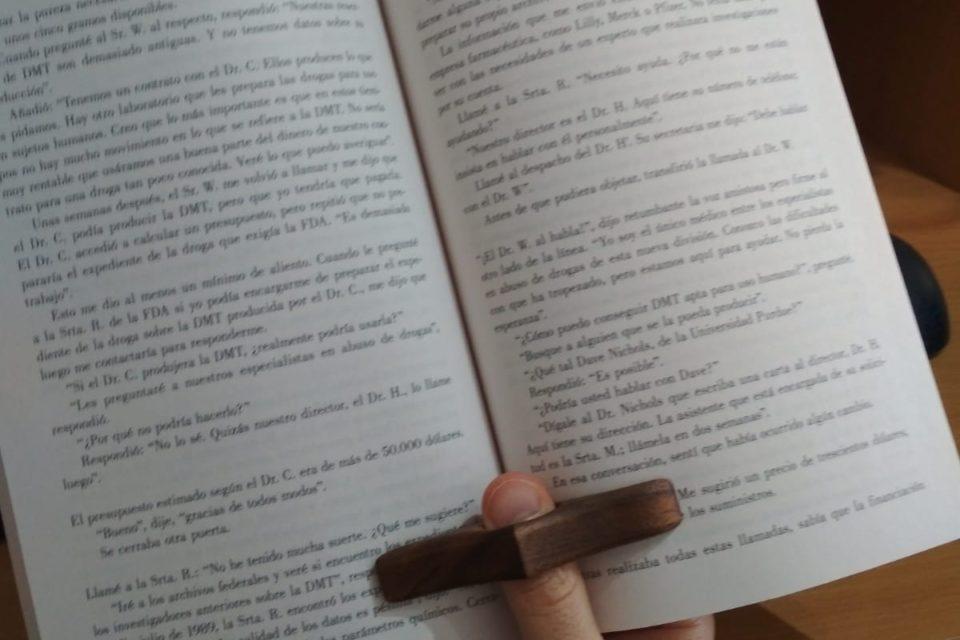 Separador de páginas en uso